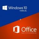 Windows 10 Familiale + Office 2016 Familiale et petites entreprises