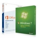 Windows 7 Familiale + Office 2013 Familiale et Petites Entreprises