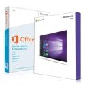 Windows 10 Pro + Office 2013 famille et etudiant