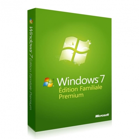 Windows 7 Édition Familiale Premium 32/64 bits