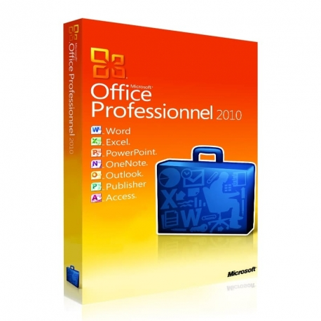Office 2010 Professionnel 32/64 bits