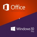 Windows 10 Pro + Office 2016 Professionnel plus