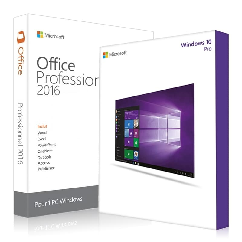 Packs windows 10 professionnel microsoft office 2016 professionnel - Cle office professionnel plus 2010 ...