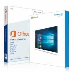 Windows 10 Familiale + Office 2013 Professionnel