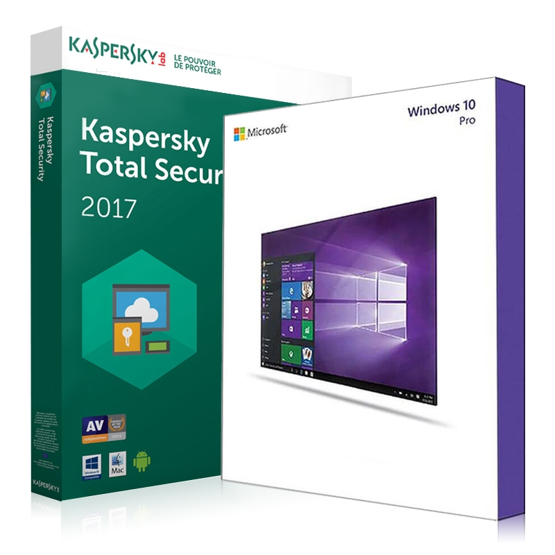 Windows 7 Professional + antivirus kaspersky internet security 2017