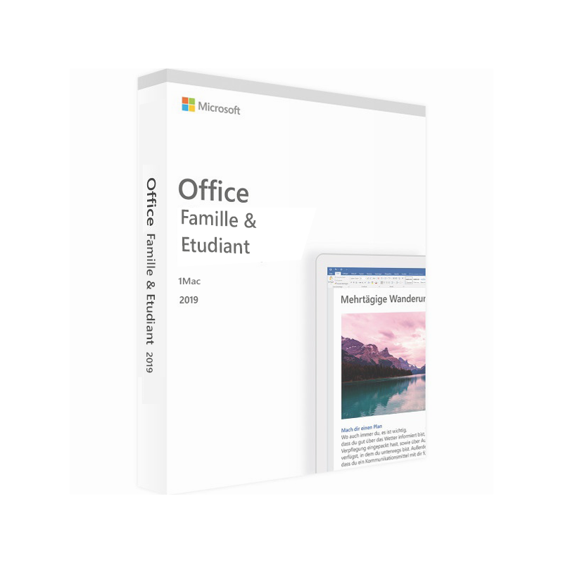 Office 2019 Famille Et Étudiant Pour Mac