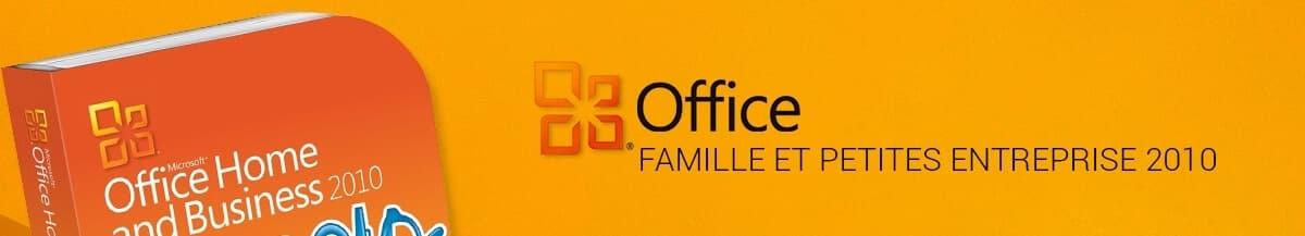 Office 2010 Familiale & Petites Entreprises