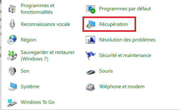 Comment créer un point de restauration Windows 10-2