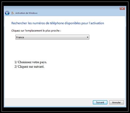 Comment activer une licence windows 7 - Activer office par telephone ...