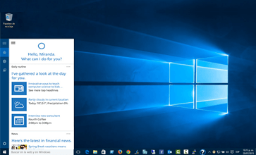 cortana sur windows 10 pro