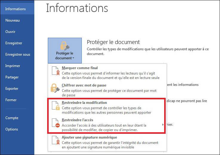 Restreindre-la-modification-et-l'accés-sur-word2013
