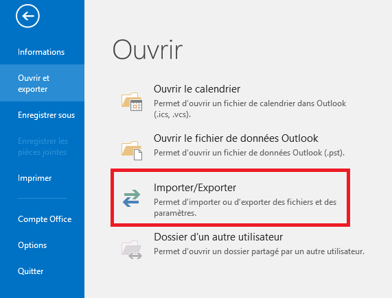 comment exporter vos contacts entre gmail vers office