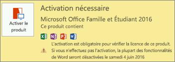 Comment activer votre licence office 2016 - Activer office par telephone ...