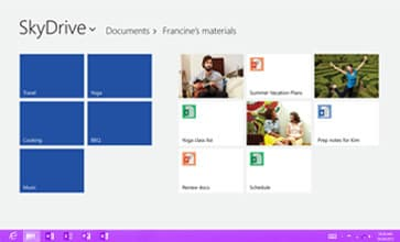 windows 8 s'adapte selon votre mode de vie