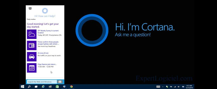 Astuces Windows 10 : Comment activer ou désactiver Cortana sur windows 10 ?