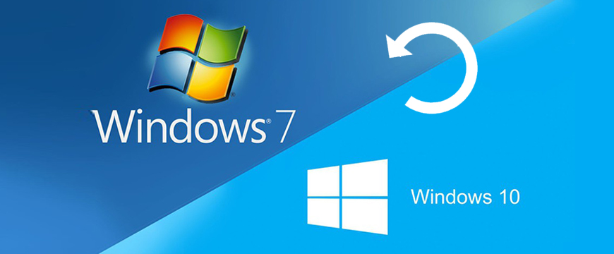 Comment revenir de Windows 10 à Windows 7 ou Windows 8