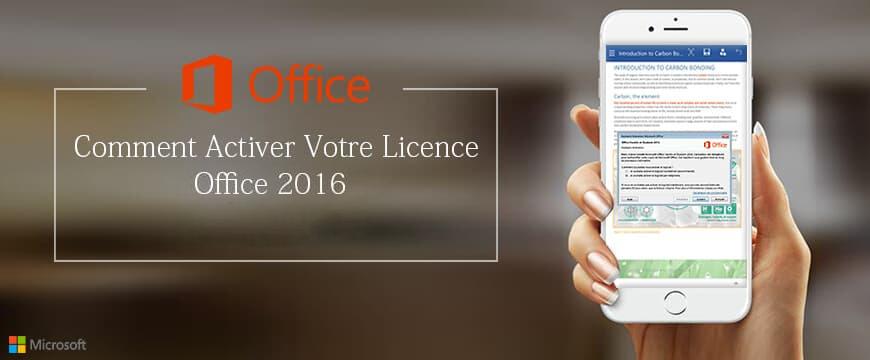 Comment activer votre licence office 2016 - Activer office professional plus 2013 ...