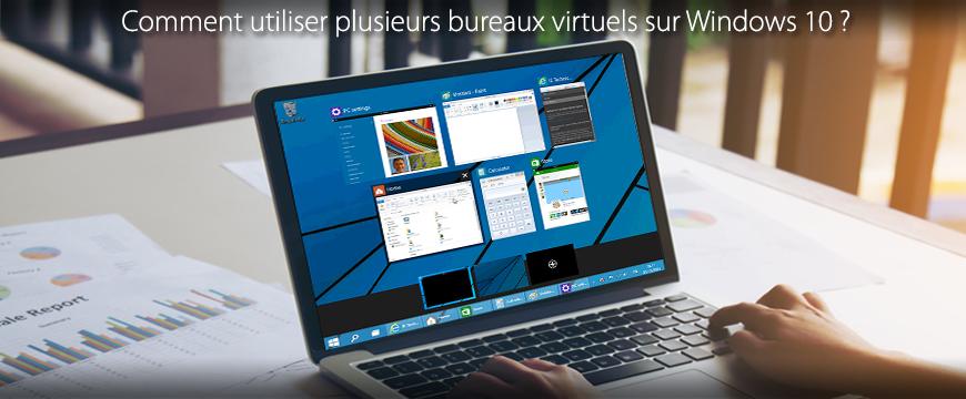 comment utiliser plusieurs bureaux virtuels avec windows 10. Black Bedroom Furniture Sets. Home Design Ideas