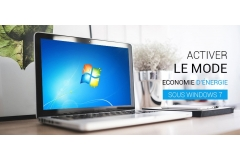 Comment Activer le mode Economie d'énergie sous Windows 7 ou Windows 8.1