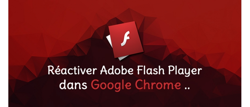 Comment activer Adobe Flash Player dans Google Chrome